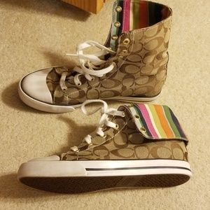 Coach High Tops Authentic
